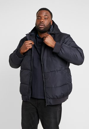 ONSBOSTON QUILTED HOOD JACKET - Winterjas - dark navy