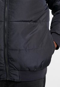 Only & Sons - ONSBOSTON QUILTED HOOD JACKET - Winter jacket - dark navy - 5