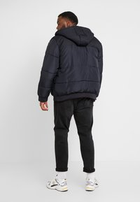 Only & Sons - ONSBOSTON QUILTED HOOD JACKET - Winter jacket - dark navy - 2