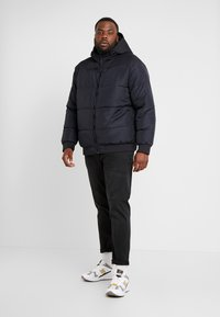 Only & Sons - ONSBOSTON QUILTED HOOD JACKET - Winter jacket - dark navy - 1