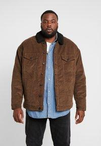 Only & Sons - ONSRICK OVERSIZE  - Light jacket - brown - 0