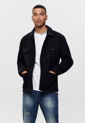 Summer jacket - dark navy
