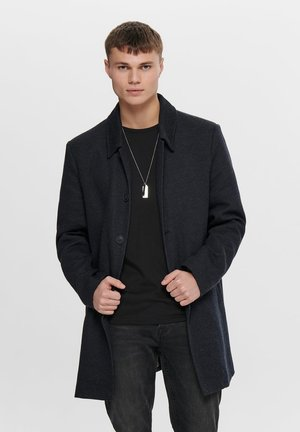 Short coat - dark navy