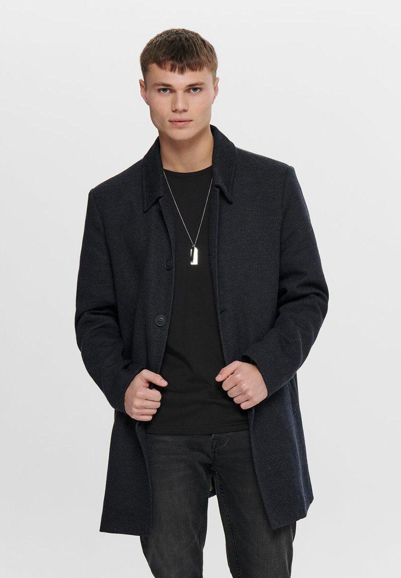 Only & Sons - Short coat - dark navy