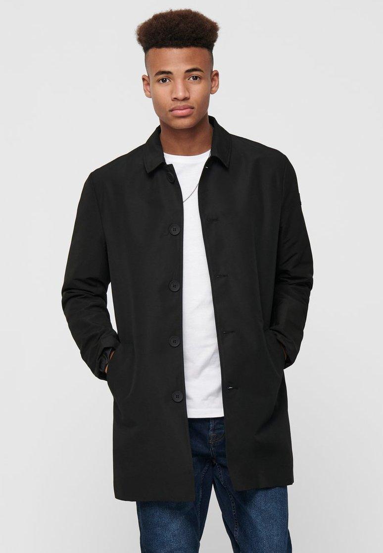 Only & Sons - Short coat - black