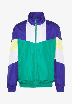 ONSNIGHT BLOCK OVERSIZE TRACK - Summer jacket - greenlake