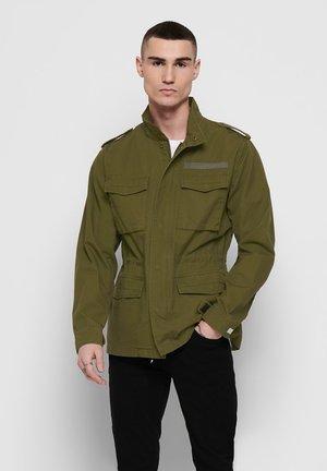 Summer jacket - dark olive
