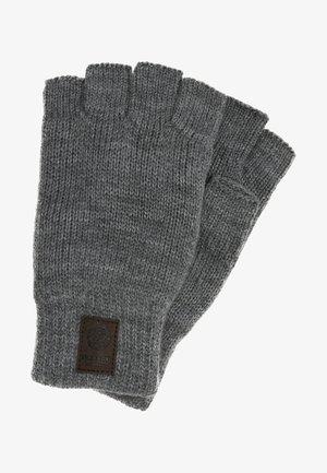 ONSCLAS NO-FINGER GLOVES - Fingerless gloves - medium grey melange