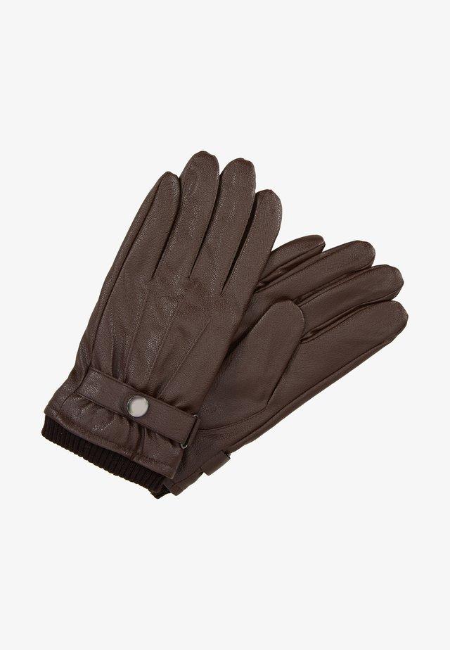 ONSLARS BUCKLEGLOVE - Fingerhandschuh - brown stone