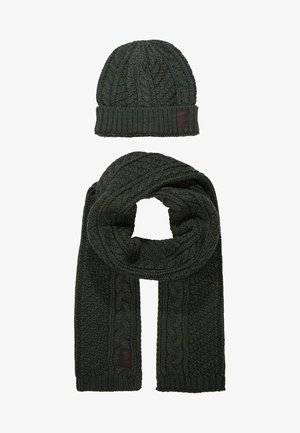 ONSERIK BOX SCARF BEANIE  - Scarf - forest night