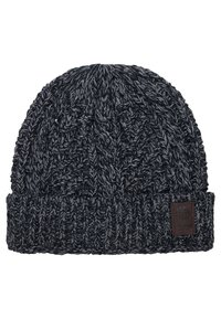 Only & Sons - ONSERIK BOX SCARF BEANIE  - Scarf - black - 4