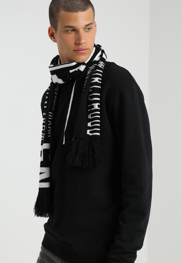 Only & Sons - ONSHOOLIGAN SCARF - Scarf - black