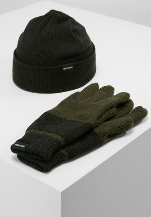 ONSX-BOX GLOVES BEANIE SET - Gloves - forest night