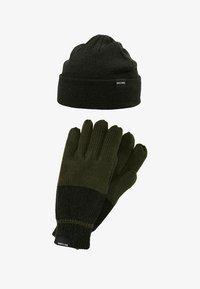 Only & Sons - ONSX-BOX GLOVES BEANIE SET - Guantes - forest night - 6
