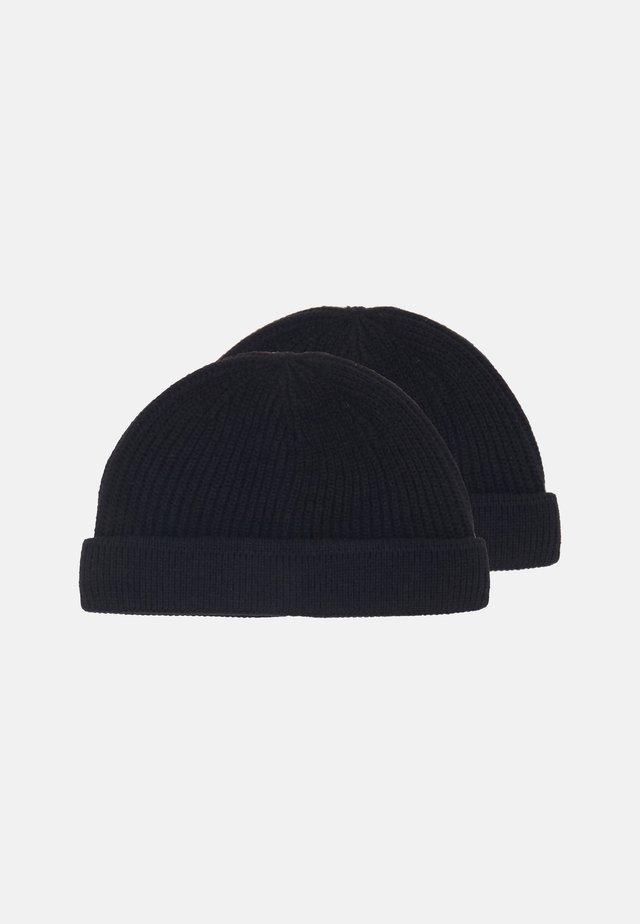 ONSSHORT BEANIE 2 PACK - Lue - black