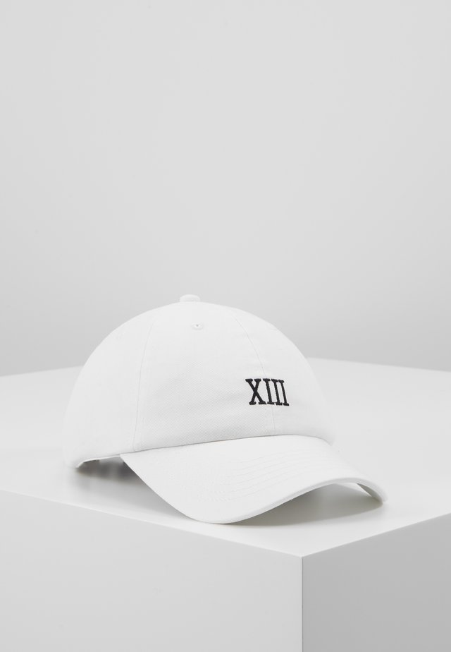 ONSCOLE  - Cap - white/black