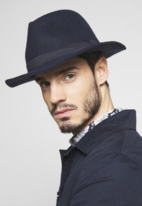 Only & Sons - ONSCARLO FEDORA HAT - Sombrero - maritime blue - 1