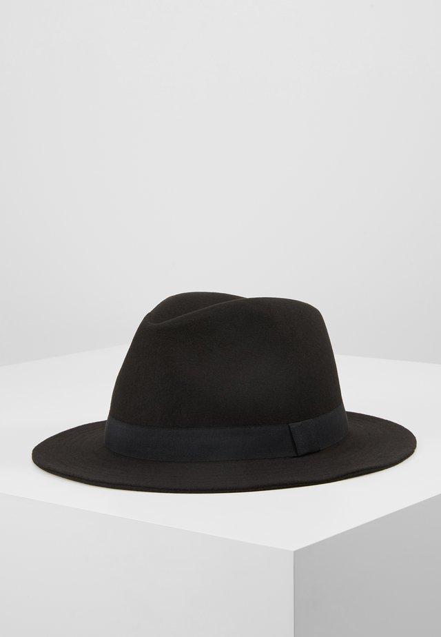 ONSCARLO FEDORA HAT - Hattu - black