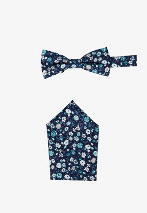 ONSTBOX BOW TIE & HANKERCHIEF - Poszetka - black/mint