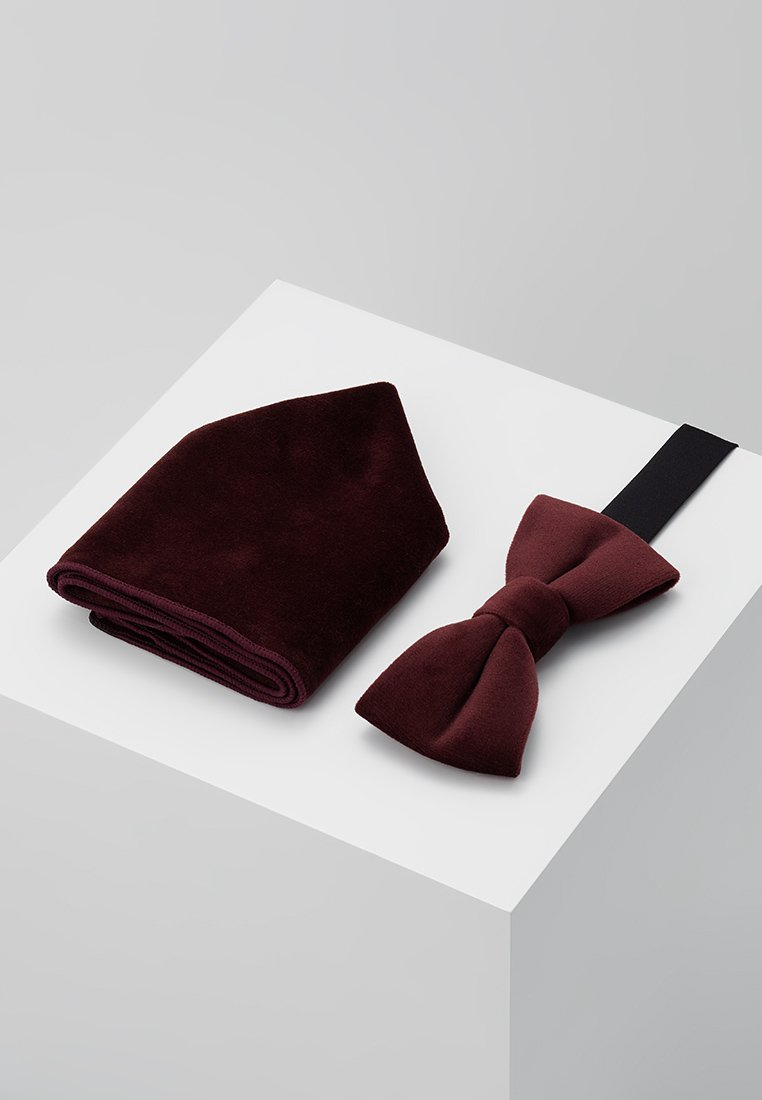 Only & Sons - ONSTBOX THEO BOW TIE HANKERCHIEF SET - Einstecktuch - winetasting