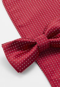 Only & Sons - ONSTBOX THEO TIE SET - Einstecktuch - pompeian red/white - 4