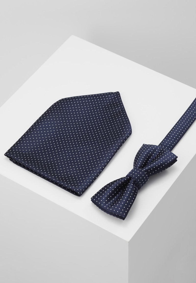 Only & Sons - ONSTBOX THEO TIE SET - Pocket square - dress blues/white