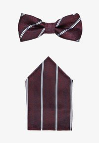 Only & Sons - ONSTBOX TYLER BOW TIE AND HANKERCHIEF SET - Mouchoir de poche - zinfandel