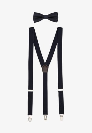 ONSBOWTIE SUSPENDER SET - Bow tie - dark navy