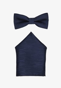 Only & Sons - ONSTANNER SATIN  BOW TIE BOX - Pocket square - dress blues - 1
