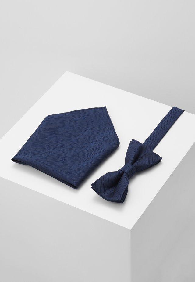 ONSTANNER SATIN  BOW TIE BOX - Taskuliina - dress blues