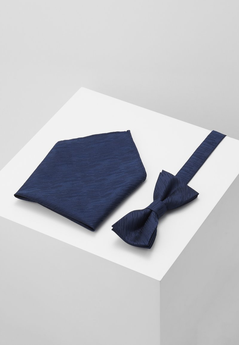 Only & Sons - ONSTANNER SATIN  BOW TIE BOX - Pocket square - dress blues