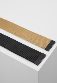 Only & Sons - ONSCANVAS LONG BELT 2 PACK - Belt - chinchilla - 3