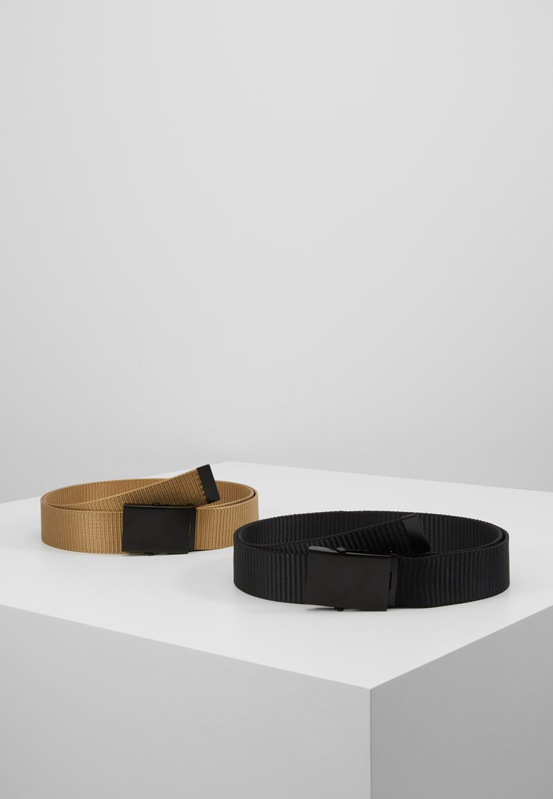 Only & Sons - ONSCANVAS LONG BELT 2 PACK - Belt - chinchilla
