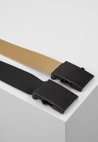 Only & Sons - ONSCANVAS LONG BELT 2 PACK - Belt - chinchilla - 2