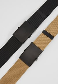 Only & Sons - ONSCANVAS LONG BELT 2 PACK - Belt - chinchilla - 5