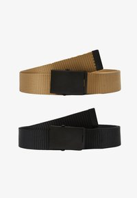 Only & Sons - ONSCANVAS LONG BELT 2 PACK - Belt - chinchilla - 4