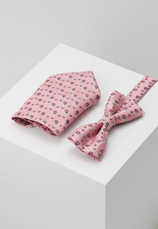 ONSTODD BOW TIE BOX SET - Mouchoir de poche - misty rose/pink