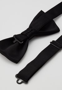 Only & Sons - ONSTED  BOW TIE SET - Pocket square - black - 3