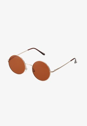 ONSSUNGLASSES ROUND - Zonnebril - mustard gold-coloured