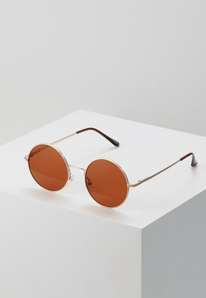 ONSSUNGLASSES ROUND - Sonnenbrille - mustard gold-coloured