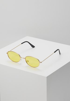 ONSSUNGLASSES COLOURED - Sonnenbrille - beige/light yellow