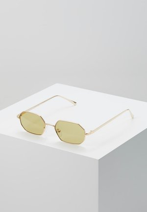 ONSSUNGLASSES BOX - Aurinkolasit - shiny gold-coloured/yellow
