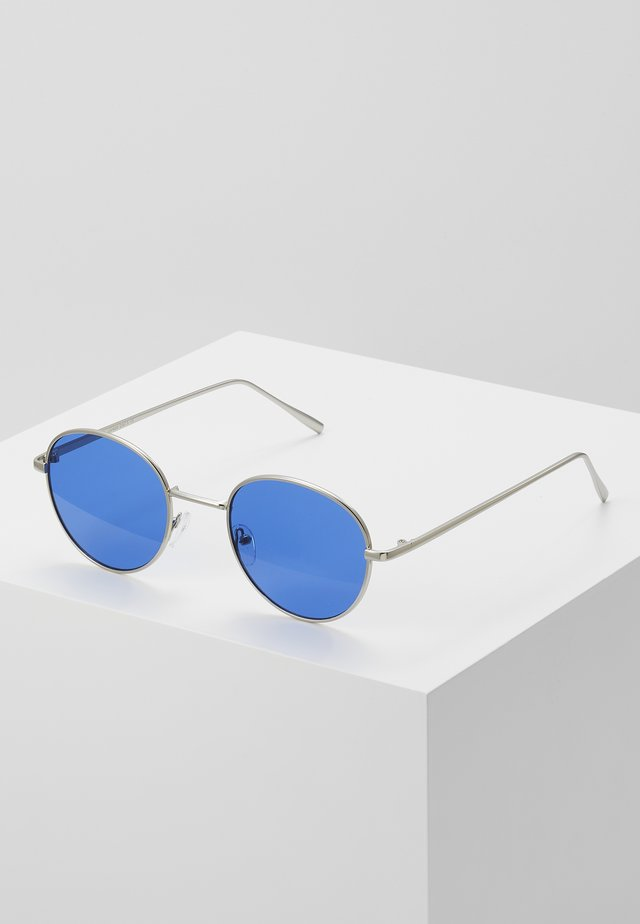 Sunglasses - dark blue/silver-coloured