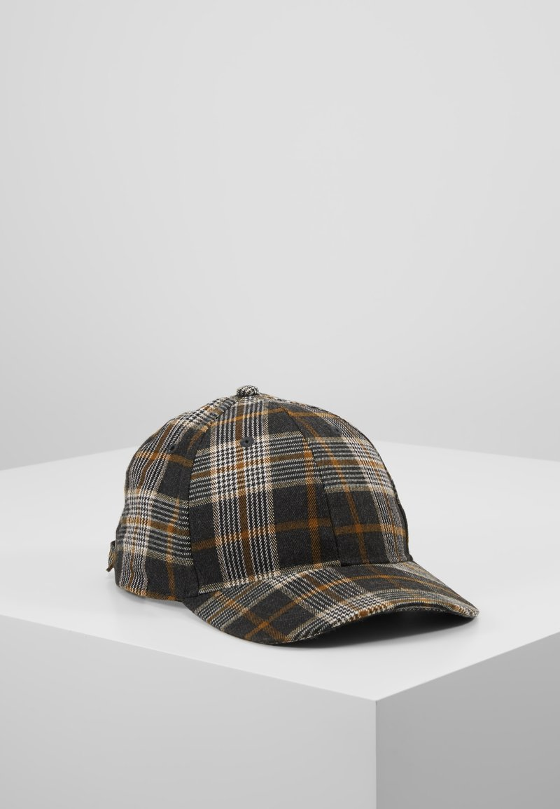Only & Sons - ONSCHECK BASEBALL - Cap - yellow/grey check