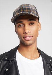Only & Sons - ONSCHECK BASEBALL - Cap - yellow/grey check - 1