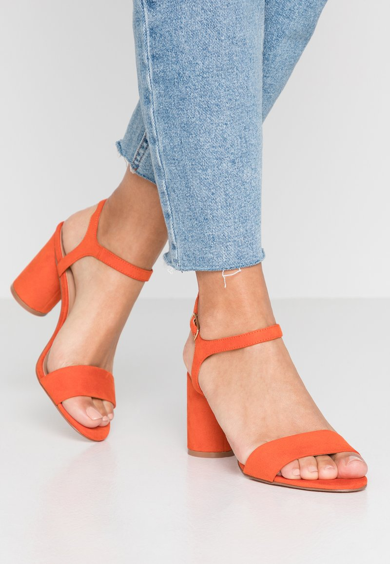 ONLY SHOES - Sandals - orange
