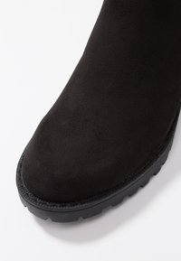 ONLY SHOES - ONLBARBARA LONG SHAFT - Kozačky nad kolena - black - 2