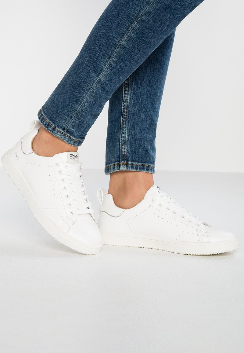 ONLY SHOES - ONLSHILO  - Sneaker low - white