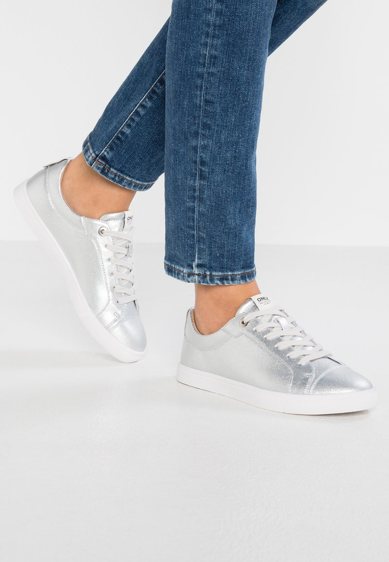 ONLY SHOES - ONLSILJA - Trainers - silver