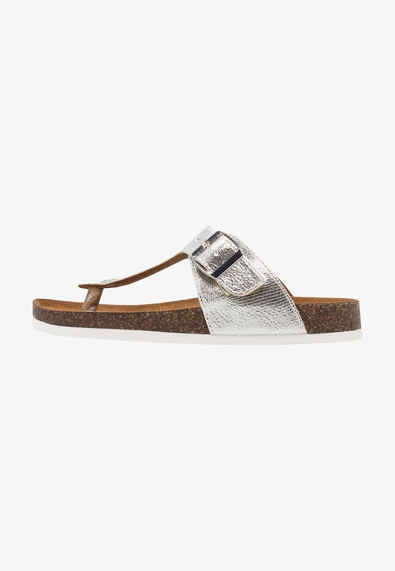 ONLY SHOES - ONLMATHILDA TOE SPLIT  - Sandály s odděleným palcem - silver